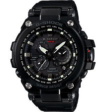 Casio Men's G-Shock MTG Metal Solar Twisted Black Steel  Watch MTGS1000BD-1A