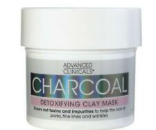 advanced clinicals charcoal detoxifying mask with rose water