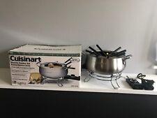 Cuisinart Cfo-3Ss Electric Fondue Maker Set