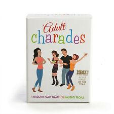 Rude Adult Charades Party Card Game Games Funny Naughty 80 Charade Cards New