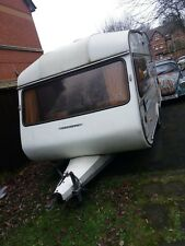celeste 2 birth caravan with awning and spares