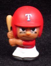 """MLB TEENYMATES ~ 1"""" Batter Figure ~ Series 1 ~ Texas Rangers ~ Minifigure"""