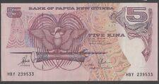Papua New Guinea 5 Kina 1993 ef