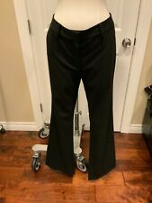"""Thakoon Black """"Tailored Stovepipe"""" Wide Leg Pants, Size 8, NWT!"""