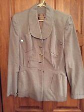 Vintage Wool Structured Womens Jacket