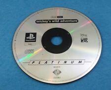 SONY PLAYSTATION 1 PS1 PSX JUEGO PAL ESPAÑOL SOLO DISCO - MICKEYS WILD ADVENTURE