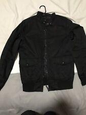 Zara Man Bomber Jacket Small Black
