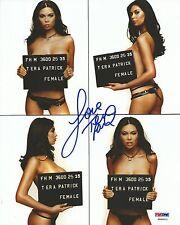 Tera Patrick Signed 8x10 Photo PSA/DNA COA FHM Magazine Mug Shot Picture Auto'd