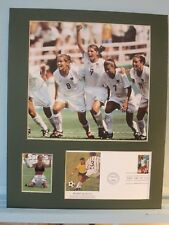 The US Woman's Soccer Team wins the 1999 World Cup & World Cup First Day Cover