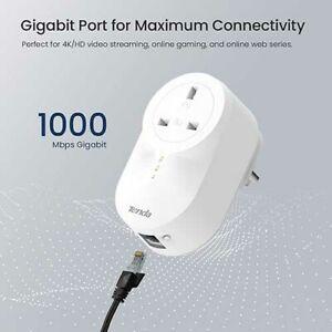 Tenda PH6 1000 Mbps Powerline Adapter Kit - White