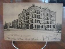 """1906 """"The New Sherman, Jamestown, N.Y."""" Postcard"""
