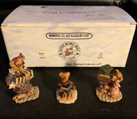 Boyds Bears Wunnerful Village Accessory Stuff #19517-1 3 Piece