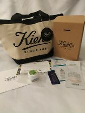 LOT KIEHL'S isotherm bag + mirror keychain + samples + miniature ultra facial