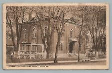 Lawrence County Courthouse KENTUCKY Louisa KY Rare Antique 1917