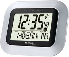 SONDERANGEBOT Technoline WS 8005 digitale Funkwanduhr Datum Wanduhr Temperatur