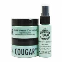 Cougar Beauty Set Rare White Diamond 3 Piece Skincare Trio Brand New & Boxed
