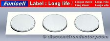 Set of 3 Batteries Lithium Button CR2430, 100% compatible with Varta CR2430.