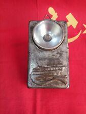 Vintage pocket flashlight USSR boat water wings Rocket Comet Meteor stigma MSH