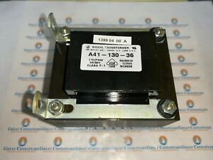 NEW! Signal Transformer A41-130-36 115/230V 18/36V 50/60HZ 130 VA