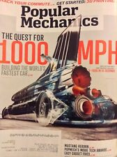 Popular Mechanics Magazine The Quest For 1000 MPH March 2014 051218nonrh