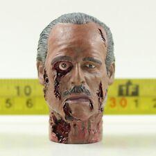 """1:6 Scale TD36-20 Walking Dead Zombie Head Model Toy For 12"""" Male Figure Body"""