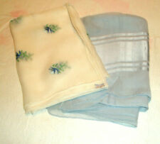 Vintage 2 Designer Silk Scarves Echo and Glentex Made in Japan