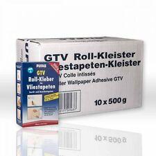 10 x PUFAS GTV Roll-Kleber 500g Rollkleister Vliestapeten-Kleber Tapetenkleister