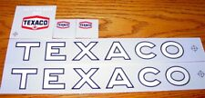 Wen-Mac Texaco Jet Fuel Tanker Sticker Set        BL-044