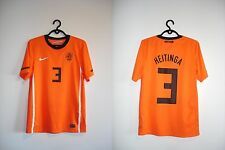 AUTHENTIC HOLLAND NETHERLAND 2010 HEITINGA SMALL NIKE JERSEY SHIRT