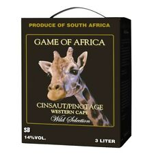 Game of Africa Cinsaut/Pinotage 300cl BiB Bag in Box 14% vol