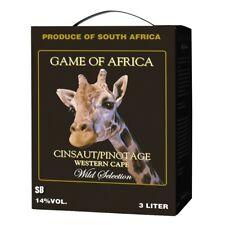 Game of Africa Cinsaut/Pinotage 300cl BiB Bag in Box 14% vol