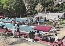 CASTROCARO TERME: La piscina nel Parco delle Terme    1966