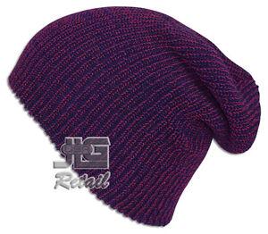 S Knit Baggy Beanie Winter Hat Ski Slouchy Chic Cap Skull Men Women USA made NEW