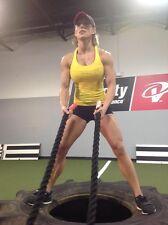 "50'x1.5"" black Polydac Workout Training Fitness Battle Exercise Undulation Rope"