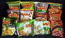 MAMA Suppen 30 x gemischt aus 14 leckeren Sorten Instant Nudeln/Reis Nudeln