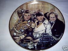Three Stooges Plate Franklin Mint Collector Plate~Fs~