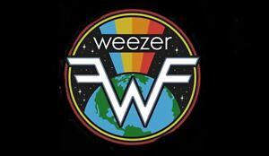 Weezer - Fridge Magnet - Space Logo - Licensed New
