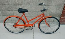 "VINTAGE ROLLFAST AEROLIGHT 24""  WOMENS CRUISER BICYCLE 1970'S XLNT COND"