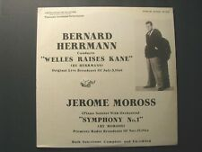 *BERNARD HERRMANN OOP LTD/ED. *WELLES RAISES KANE* 1949 SEALED ALBUM – ORSON*