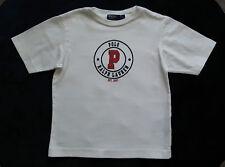 Entzückendes Ralph Lauren Kurzarm T Shirt Gr. 4 110 - 116 Top !! weiß
