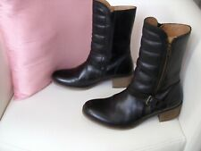 ♥ Boots Kickers Cuir noir 38 ♥