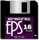 ENSONIQ EPS 16+ OS Disk 1.30 - 16 Plus - 24 Instruments - Free Shipping