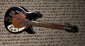 Hard Rock Cafe Aspen Pin Rickenbacker Guitar Vintage Brass