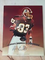 1997 LEAF SIGNATURE ALBERT CONNELL AUTOGRAPH 8X10 WASHINGTON REDSKINS