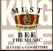 KING BEE - MUST BE THE MUSIC - CARD SLEEVE 3 INCH 8 CM CD MAXI