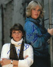 CAGNEY & LACEY.. Sharon Gless with Tyne Daly - SIGNED