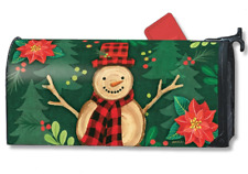Woody MailWrap : Magnetic mailbox cover Christmas Studio-m