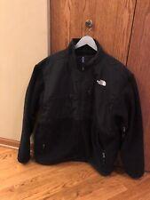 The North Face Denali Fleece Men's XL Black Vented Heavy Fleece Jacket