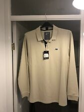 peaceful hooligan Long Sleeve Polo Never Worn Size Xl 21 Inch Ptp Excellent Cond