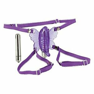 California Exotics Wireless Venus Butterfly Wearable Stimulator - Purple